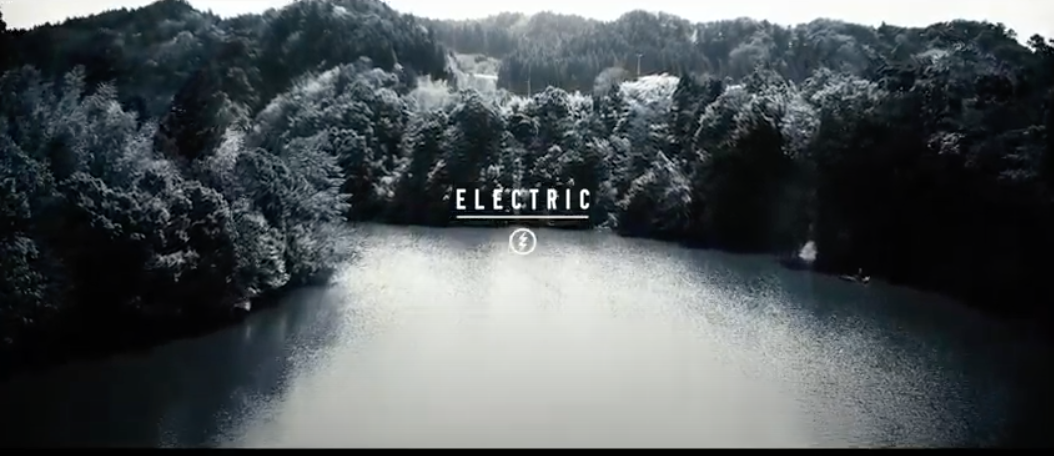 "ELECTRIC x LAKE SEEKER'S ""深黒"""